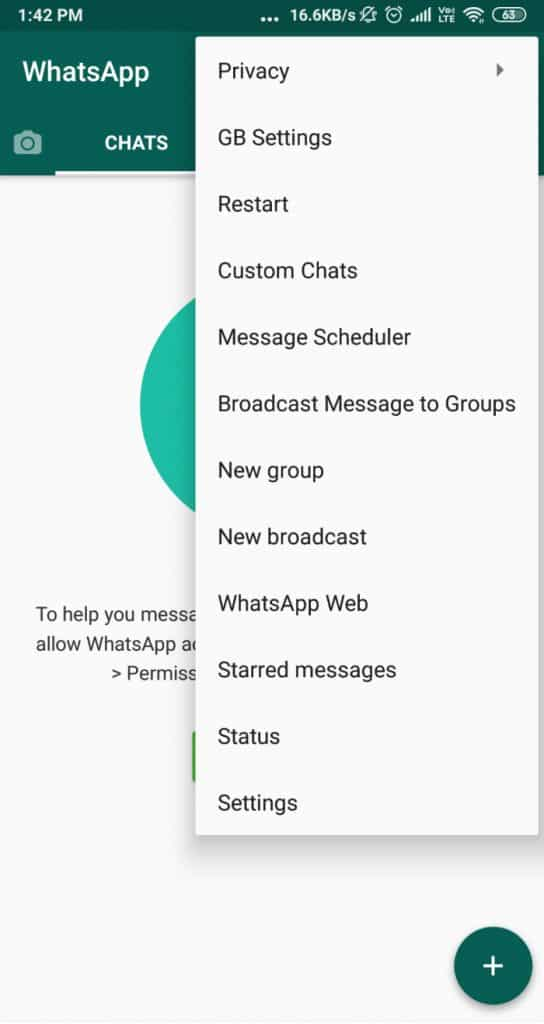 GBWhatsApp APK Download (Oficial) v8 00 Latest Version
